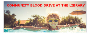 COMMUNITY BLOOD DRIVE AT THE LIBRARY @ Kenilworth Public Library