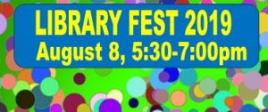 10th Annual LibraryFest @ Kenilworth Public  Library