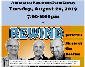 Rock out with Rewind at the Kenilworth Public Library @ Kenilworth Public Library